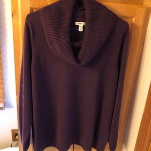 Deep Purple Sweater. Size 1X